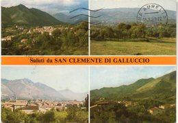 SAN CLEMENTE DI GALLUCCIO (CE) M. 368 S.l.m. - Veduta Panoramica - Italia
