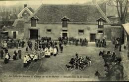 78 LA CELLE-les-BORDES Chasse De La St-Hubert Bénédiction De La Meute / A 482 - Francia