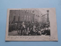 "Herinnering 7 Feb 1901 "" DE BRUIDSSTOET "" De Vorstelijke.... ( NEDERLAND / Holland ) Anno 1901 ( Zie Foto's ) N J Boon ! - Familias Reales"