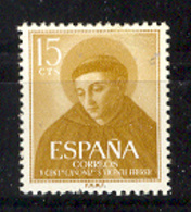 Spain 1955. S. Vicente Ferrer Ed 1183 (**) Mi 1068 - 1931-Today: 2nd Rep - ... Juan Carlos I