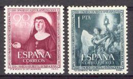 Spain 1952. Congreso  Eucaristico Edi: 1116.-17 SC 792 - 1931-Today: 2nd Rep - ... Juan Carlos I
