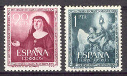 Spain 1952. Congreso  Eucaristico Edi: 1116.-17 SC 792 - 1951-60 Nuevos & Fijasellos