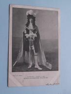 KONING-STADHOUDER WILLEM III Maskerade LEIDEN 1905 ( NEDERLAND / Holland ) Anno 1905 ( Zie Foto's ) H Jonker ! - Familias Reales