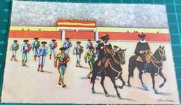 Bullfighting ~ Corrida De Toros ~ Desfile De Las Cuadrillas ~ Matadors ~ Bull - Corrida