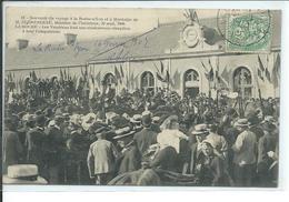 La Roche-sur-Yon-30 Septembre 1906-M.Clemenceau, Ministre De L'Interieur,Les Vendéens Font Une Chaleureuse Réception à L - La Roche Sur Yon