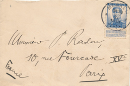 364/29 - Enveloppe TP Pellens 25 C MERXEM A 1913 Vers PARIS - 1912 Pellens