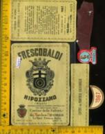 Etichetta Vino Liquore Chianti Nipozzano 1967 Frescobaldi-Le Sieci FI - Etiketten