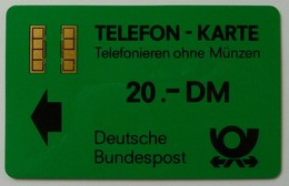 GERMANY - Aachen Test / Trial - TA5a - Bundespost - Gold - No Text On Reverse - With Control - 20 Units - Used - T-Series : Tests