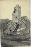 PASSENDALE - Zonnebeke - Ruine Van De Kerk - Duitse Uitgave - Zonnebeke