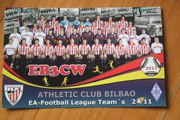 ATHLETIC TEAM - 2011 - Football - Soccer - OLD PC - QSL - Calcio