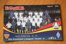 VALENCIA C.F. TEAM - 2011 - Football - Soccer - OLD PC - QSL - Calcio