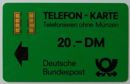GERMANY - Aachen Trial - TA6al - Bundespost - Gold Chip - Text On Reverse - Without Control - 20 Units - Used - T-Series : Tests