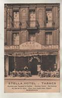 BORDEAUX - Stella Hotel - Tabacs - 23 Rue De La Gare - Carte Rare - Bordeaux