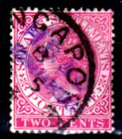 Straits Settlements-0042 - 1882-99:- Senza Difetti Occulti - - Straits Settlements