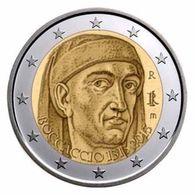 Italy, Boccaccio 2013, 2 Euro - Italia