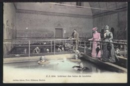 Interieur  Des Louèche-les-Bains - Belebt – Animée - 1907 - VS Wallis