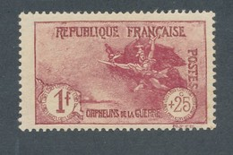 FRANCE - N°YT 231 NEUF* AVEC CHARNIERE - 1926/27 - COTE YT : 63€ - Francia