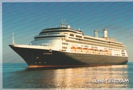 AMSTERDAM>HOLLAND-AMERICA LINE - Steamers