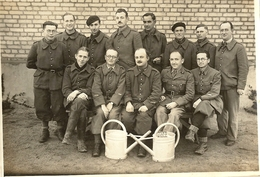 Photo Prisonniers- Stalag IV B- Mulberg- Allemagne - War, Military