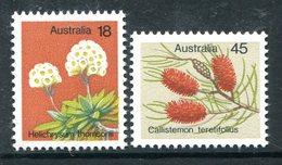 Australia 1975 Wild Flowers Set MNH (SG 608-609) - Mint Stamps