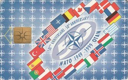REPUBLICA CHECA. NATO - FLAGS. C274, 14/02.99. (171). - Army