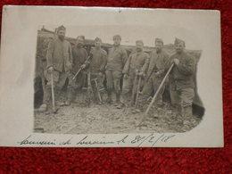 WW1. 1914-1918. MILITAIRES BELGES A IDENTIFIER. SOUVENIR DE LOUVAIN 1918. - Guerre 1914-18