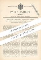 Original Patent - James Joseph Melville , Winnington , England , 1893 , Behandlung Fester Körper Mit Gas | Gase , Chemie - Historische Dokumente