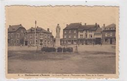 Herbeumont S/Semois. La Grand'Place Et Monument Aux Morts De La Guerre. - Neufchateau