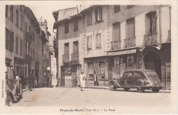 ¨PRATS De MOLLO (Pyr.Or.) La Place Avec Automobile - France