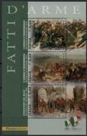 """Italia - Repubblica 2011 """"Fatti D'Arme, Scene Di Battaglie, Foglietto Di 3 Da €. 0,60 - Blocchi & Foglietti"""