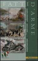 """Italia - Repubblica 2011 """"Fatti D'Arme, Scene Di Battaglie, Foglietto Di 3 Da €. 0,60 - 6. 1946-.. Repubblica"""