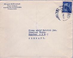 1934 INDIA PORTUGUESA , SOBRE CIRCULADO , NOVA GOA - MÜNICH - Portuguese India