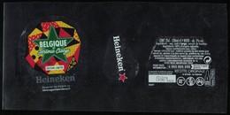 France Lot 3 Étiquettes Bière Beer Labels Bière Heineken Belgique By Jérémie Claeys - Birra