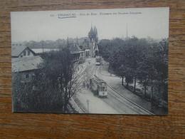 """"""""""" édition Cartes D'autrefois """" Strasbourg , Pont Du Rhin , Bâtiments Des Douanes Françaises """""""" Carte Animée Tramway """""""" - Strasbourg"""