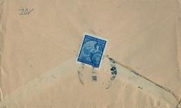 1938 INDIA PORTUGUESA , SOBRE CIRCULADO , CORLIM - MAPUÇA - GOA / MÜNICH - Portuguese India