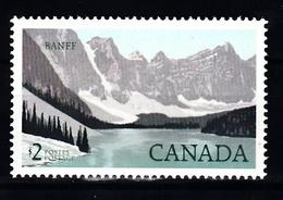 Canada 1985 Mi Nr 969 Landschap Banff - 1952-.... Reign Of Elizabeth II