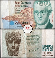 Ireland   10 Pounds   C-Series   1996   P.76b   HIJ 098823   GVF - Ireland