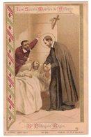 LES SAINTS MODELES DE L'ENFANCE ST FRANCOIS REGIS IMAGE PIEUSE RELIGIEUSE  HOLY CARD SANTINI HEILIG PRENTJE - Andachtsbilder