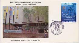Lote 1483F, Colombia,1980, SPD-FDC, Universidad Javeriana, Law School, University - Colombia