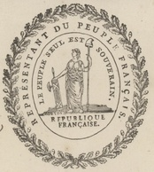 Strasbourg An 3 - 11.1.1795 Signature Bar Représentant Du Peuple,envoyé Par La Convention Héraldique - Postmark Collection (Covers)