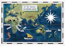Dear Doctor Biomarine Ou Assimilée - Type Poulenc - Fernando Poo Guinée Espagnole (map) - Werbepostkarten
