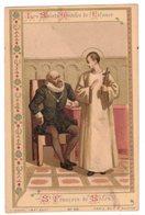 LES SAINTS MODELES DE L'ENFANCE ST FRANCOIS DE SALES IMAGE PIEUSE RELIGIEUSE  HOLY CARD SANTINI HEILIG PRENTJE - Andachtsbilder