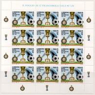 """Italia - Repubblica 2011 """"Inter Vincitore Della Coppa Italia 2010-2011, Nuovo In Foglietto - 6. 1946-.. Repubblica"""