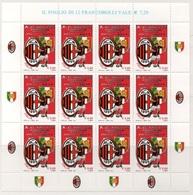 """Italia - Repubblica 2011 """"Milan Campione D'Italia 2010-2011 , Nuovo In Foglietto - 6. 1946-.. Repubblica"""