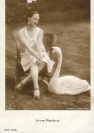 Cpa ANNA PAVLOVA Belle FEMME Cigne Blanc - Artistes