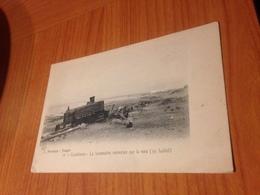 CASABLANCA - La Locomotive Renversée Sur La Voie - Casablanca