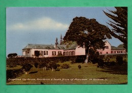 Afrique Africa Sainte Helene St Helena Longwood  Old House Residence Of Napoleon ( Format 9cm X 14cm ) - Sainte-Hélène