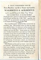 ZO1/ W.O. II/  °TWEELING BENOIT EN ALOIS VAN WAES (E.Broeders) + ST VENANT(FR)^1940 MET FOTO - Religion & Esotérisme
