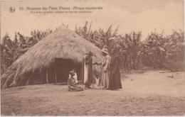 Bu - Cpa Afrique Equatoriale - Père Blanc Et Prêtre Indigène En Tournée Apostolique - Missions Des Pères Blancs - Missioni