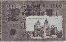 Bu - Cpa Allemagne - TRIER - Dom Und Liebfrauenkirche (Reichsbanknote) - Trier